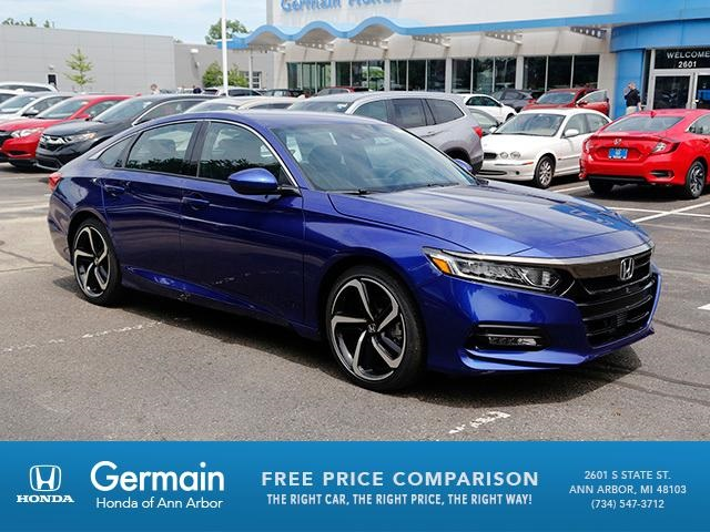 new 2018 honda accord sport 4d sedan in ann arbor ha20640 germain