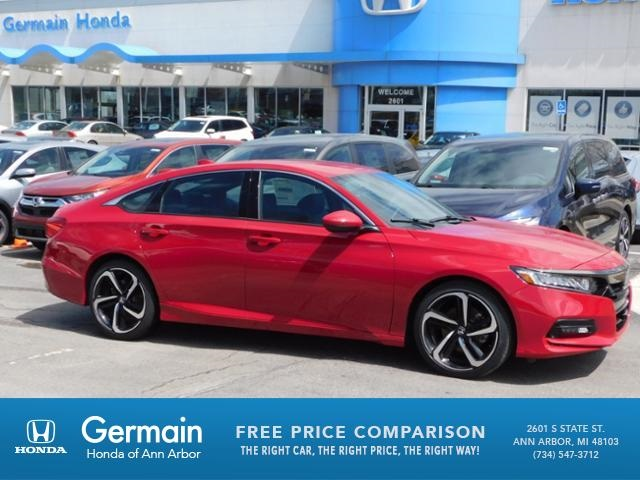 new 2018 honda accord sport 4d sedan in ann arbor ha19786 germain