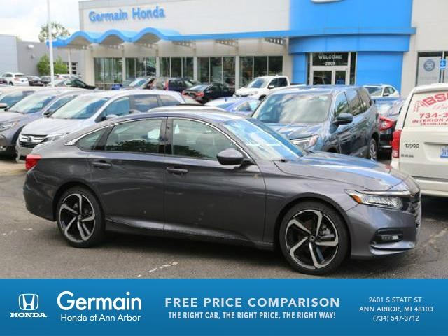 new 2018 honda accord sport 4d sedan in ann arbor ha20746 germain