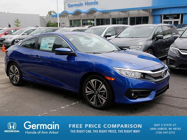 new 2018 honda civic ex t 2d coupe in ann arbor ha20625 germain