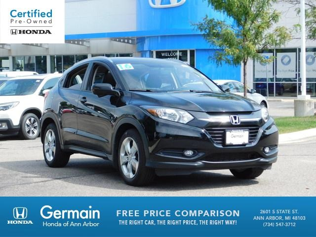 Certified Pre-Owned 2016 Honda HR-V EX-L