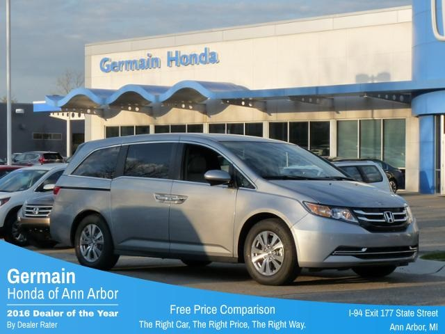 new 2017 honda odyssey se 4d passenger van in ann arbor ha19086 germain honda of ann arbor. Black Bedroom Furniture Sets. Home Design Ideas