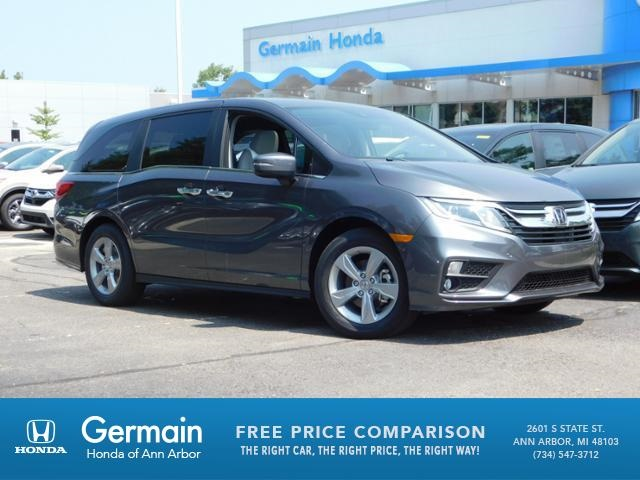 New 2020 Honda Odyssey EX-L w/Navigation and Rear Entertainment System