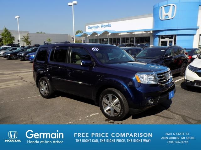 Captivating Pre Owned 2013 Honda Pilot Touring