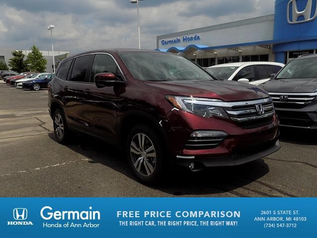 New 2018 Honda Pilot EX L W/Rear Entertainment System