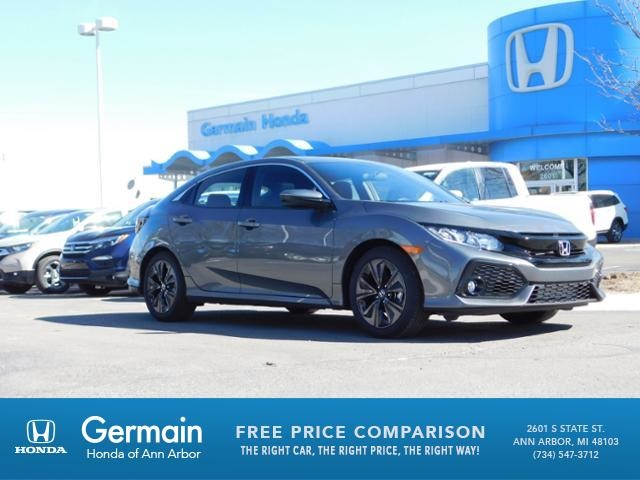 new 2018 honda civic ex 4d hatchback in ann arbor ha20780 germain