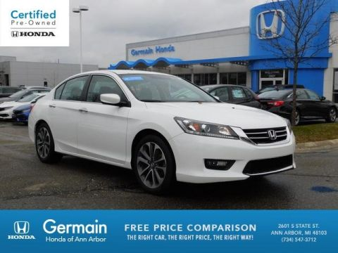 Certified Pre-Owned 2015 Honda Accord Sport